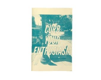Curb Your Enthusiasm - risograph photo zine