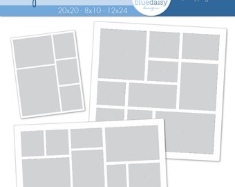 Storyboard Templates (Combo 2)  Photoshop files for Photographers