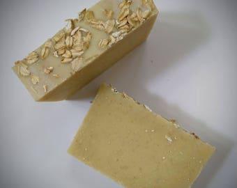Oatmeal & Almond: Bar Soap, Cold Process Soap, Castile Soap, Vegan Soap, Olive Oil Soap