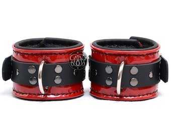 Ruby Red Submissive Cuffs