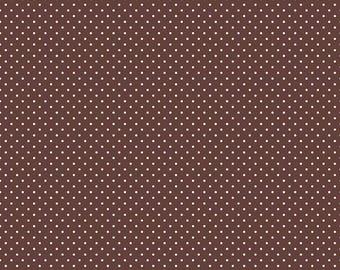 Swiss Dots - C670-90 Brown