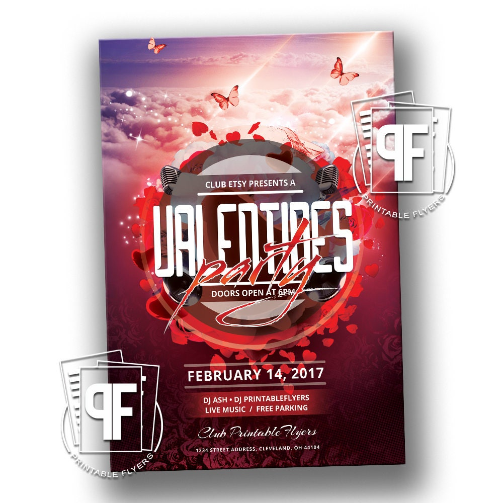 Valentines Day Party Valentines Party Invitation Valentine