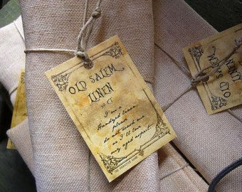 30 ct. count Old Salem Linen Standard Cut The Primitive Hare cross stitch fabric
