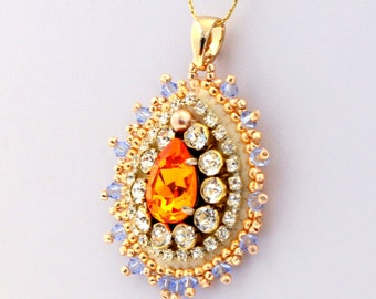 Tangerine Dream Pendant
