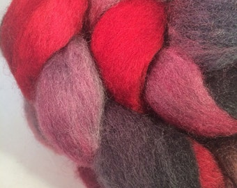 Heart Opening: Hand-Dyed Corriedale Cross Fiber
