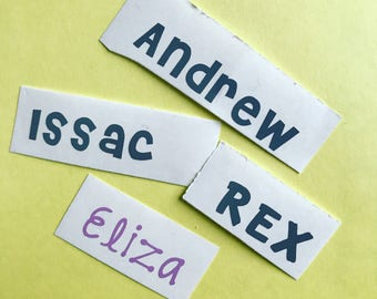 Personalized Name Decal - Vinyl Name Decal