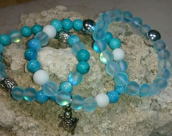 Set of 3 Yoga/Beach Bracelets