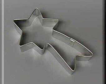 """4"""" Shooting Star Metal Cookie Cutter #NA1012"""