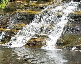 Waterfall nature photograph