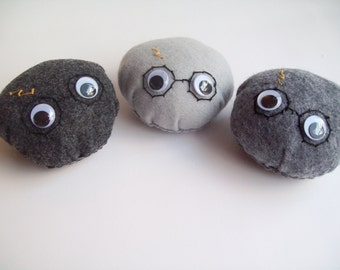 Harry Potter pet rock plush (Your choice of 1)