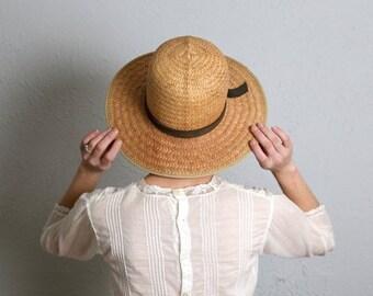 Vintage Straw Sun Hat