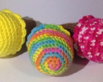 Amigurumi Ice cream - handmade crochet