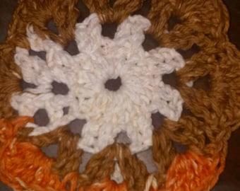 Crochet Coasters- Neopolitan