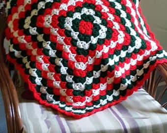 Christmas Lap Afghan