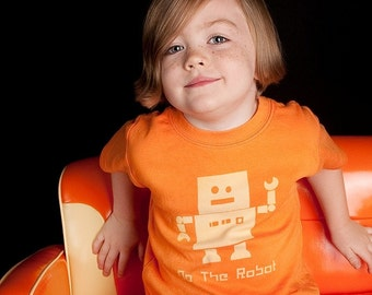 Do the Robot Tshirt - Toddler Shirt -  (No ink) High Quality shirts -  12m to 6 - click for colors, Free Shipping