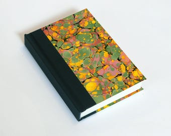 "Sketchbook 4x6"" with motifs of marbled papers - 23"