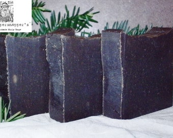 Authentic 20% Pine Tar Lye Soap By Old Whippersnapper's Handmade Soaps