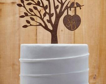 Initial Wedding Cake Topper Customized Wedding Cake Topper, Personalized Cake Topper for Wedding, Custom Personalized Wedding Cake Topper 09
