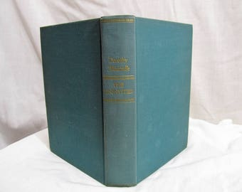 The Uninvited by Dorothy Macardle, The Literary Guild of America 1942 Hardcover, Ghost Story Haunted House Novel Best Seller Antique Book