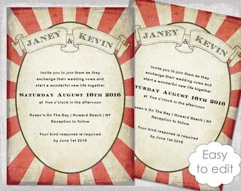 carnival invitations template
