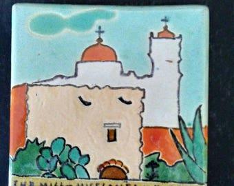 San Jose Mission Arts and Crafts Tile