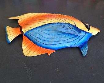 Bandit Fish Metal Wall Art  (EA)