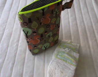 Wetbag Diaper bag wet bag squirrel