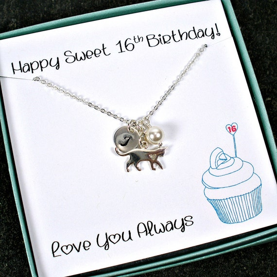Sweet 16 Necklace Sweet 16 Gifts Girls 16th Birthday Gift