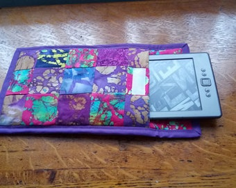 Tablet case, handmade, patchwork, proceeds to charity
