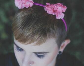 Headpiece | Haarreif | Flowercrown | Bridal Crown | Haarschmuck | Hochzeitsschmuck | Wedding Crown | Cosplay | Lolita | Bridal | OliSkyless