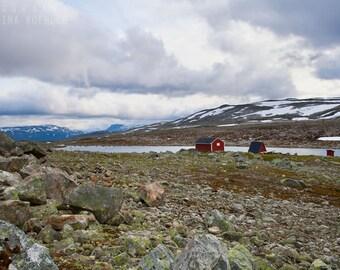 SCRAGGY photography print, Scandinavia mountain landscape, 8x12