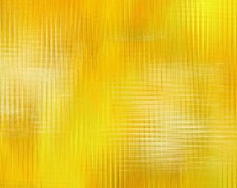 Aflutter Woven Spectrums Yellow Studio E Fabric