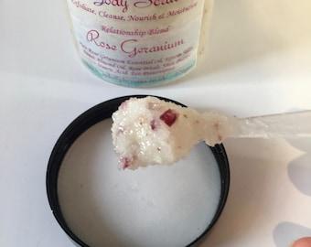 Body Scrub Rose Geranium