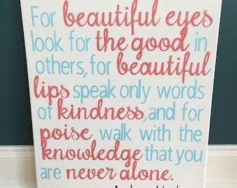 True beauty sign