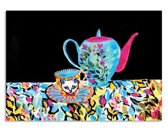Purrfection - A3 Art Print | Made in Australia
