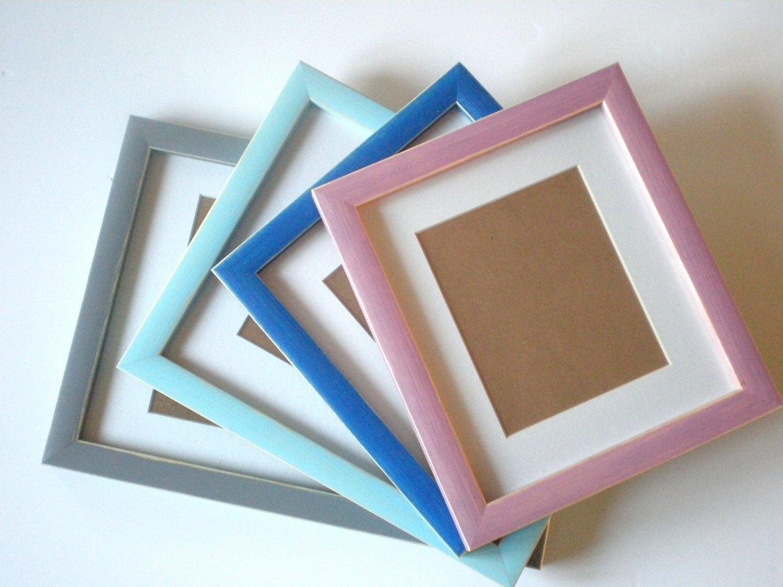 Cuadro A4 marco madera Marcos marco de la colores 21 x 30 cm