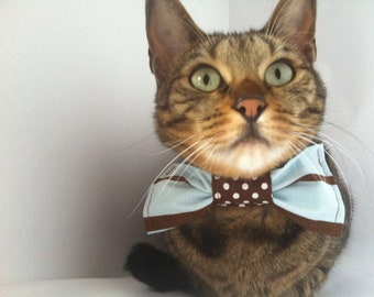 Bow Tie in your choice of print by FiercePetFashion