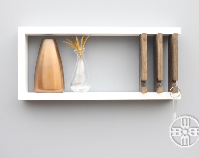 fun design wooden mail holder you do rack arrow ideas key that and can diy wall for now