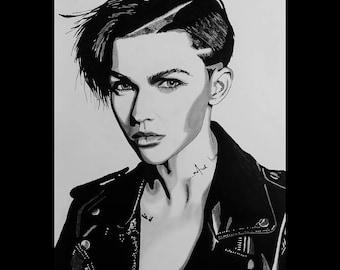 Ruby Rose (Original Artwork)