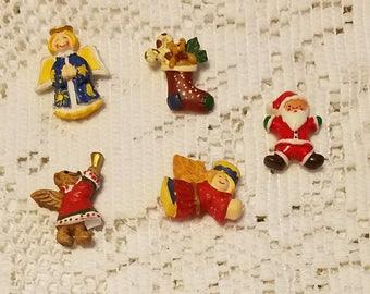Christmas magnets stocking stuffers