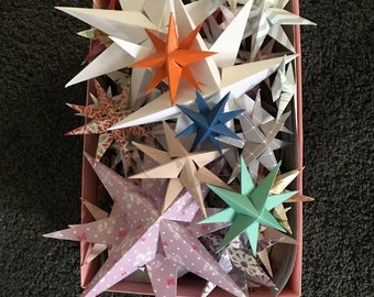 Paper stars for all occasions