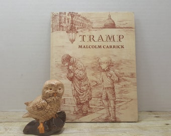 Tramp, 1977, Malcolm Carrick, vintage kids book
