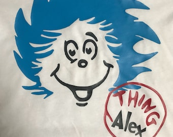 Thing 1 and Thing 2 tee