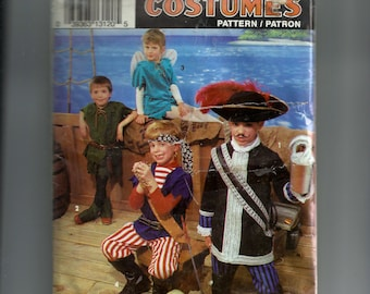 Simplicity Children's Costumes Pattern 0640