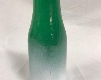 Green Milk Bottle Vase