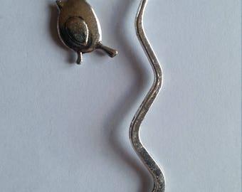 Tibetan silver Robin (National bird of England) Bookmark