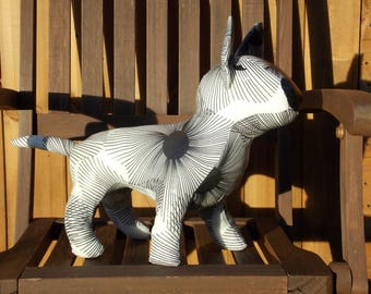 English Bull Terrier Sculpture