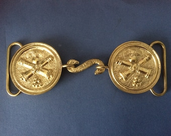 Reproduction French Artillerie Buckle