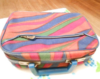 Vintage psychedelic wave lunchbox Tote
