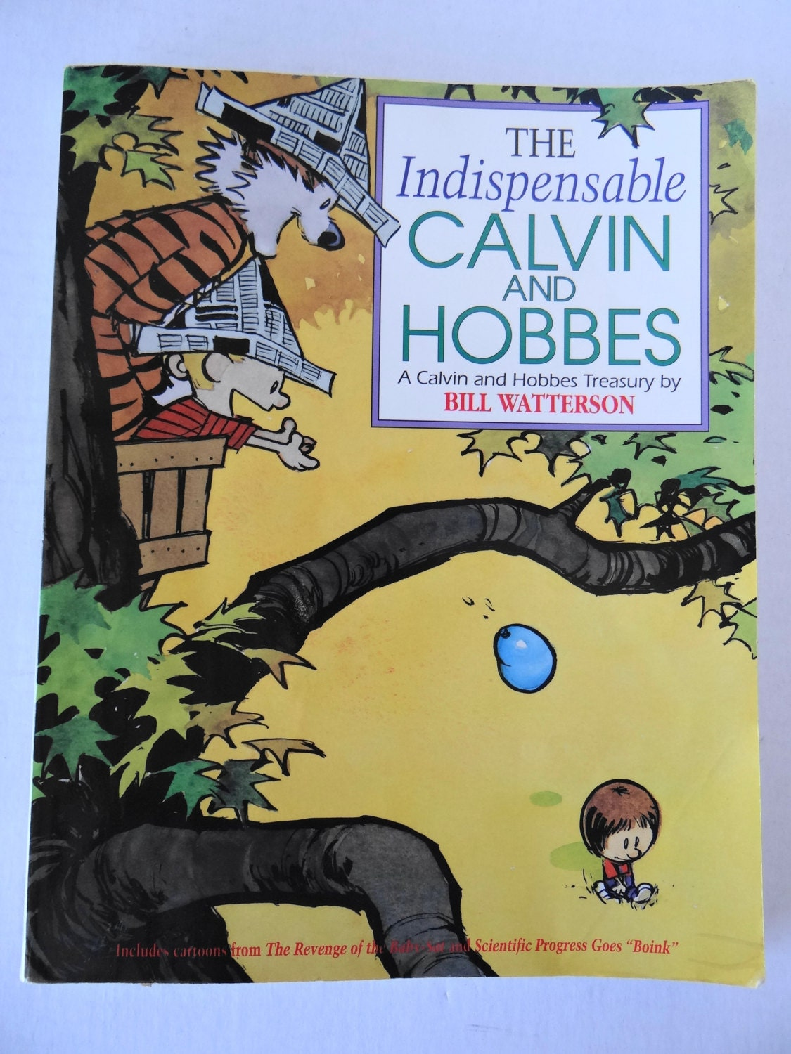 Vintage 1992 The Indispensable Calvin and Hobbes Treasury